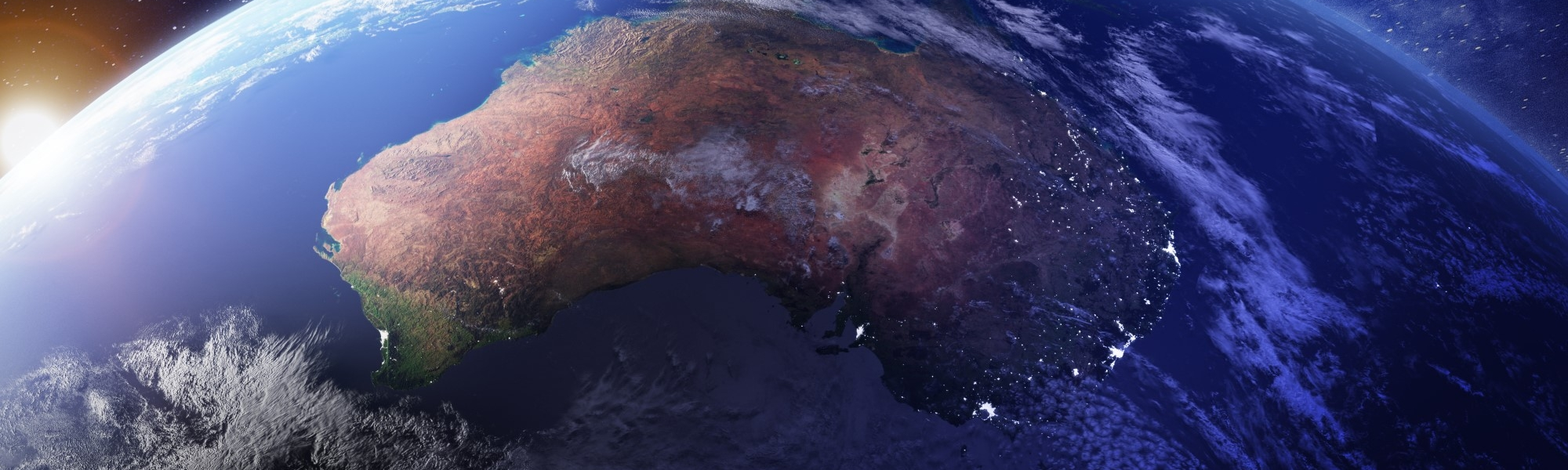 Australia seen from space
